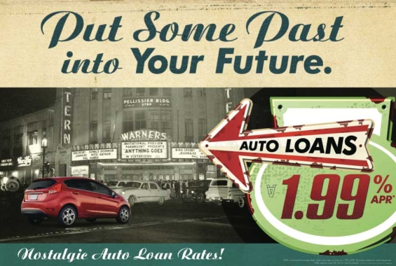first_entertainment_credit_union_auto_loan_postcard_1