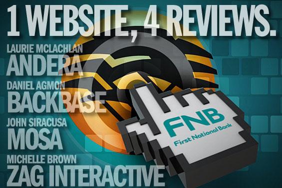 4 Online Experts Critique FNB's Radical New Website