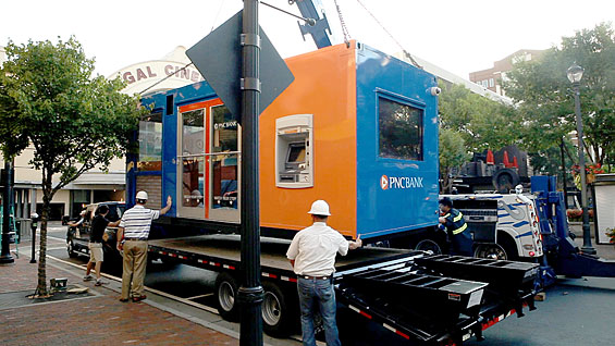 PNC Rolls Out First Ever Portable Pop-Up Branch