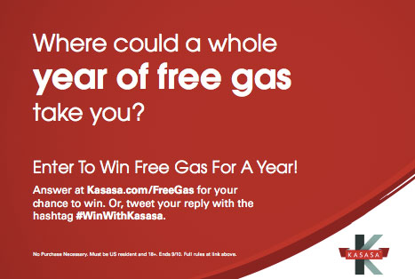 kasasa_checking_account_gas_giveaway_promo