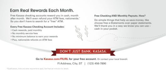 kasasa_checking_account_gas_giveaway_statement_insert_back