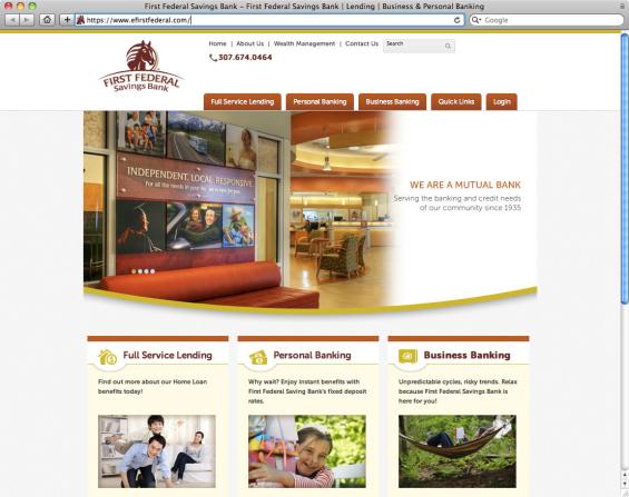 20_first_federal_savings_bank_website