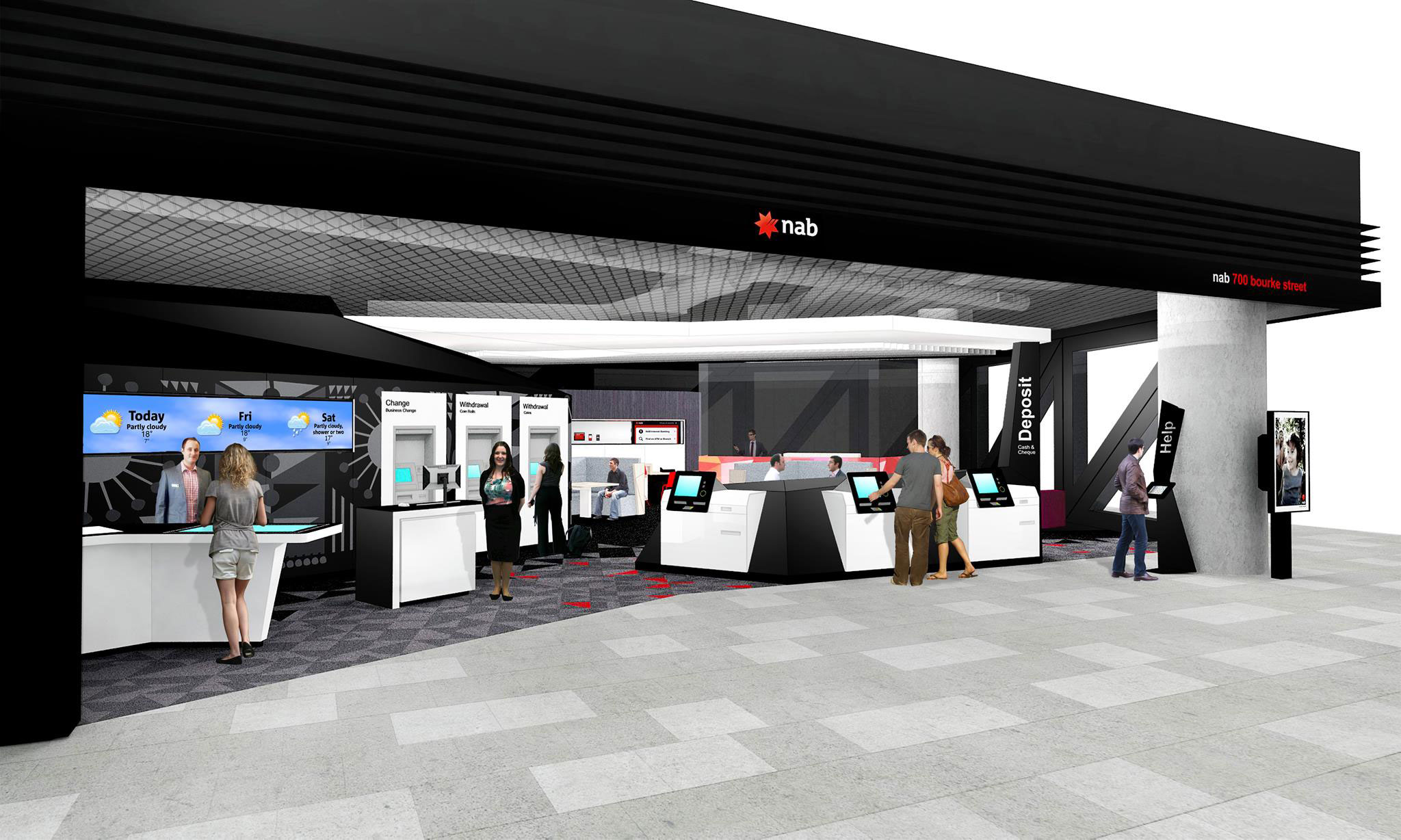 Nab Store Interior The Financial Brand