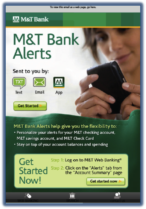 M&T Alerts