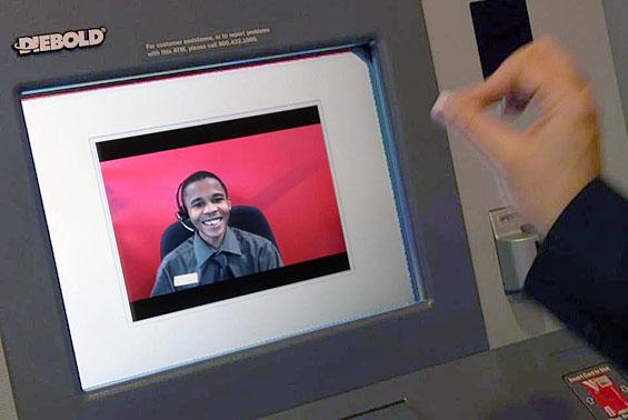 Bofa Employees Picket Video Teller Technology