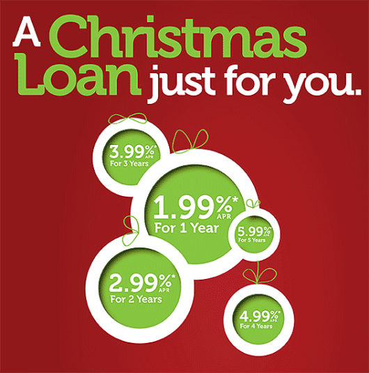Christmas Holiday Loans