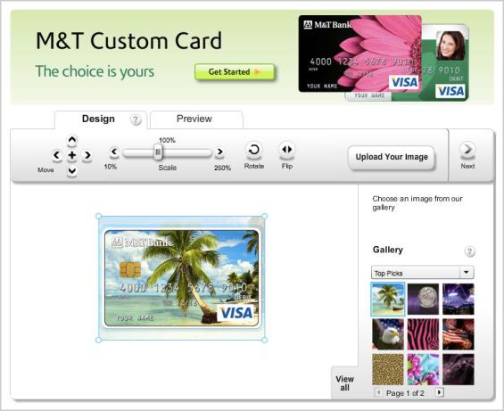 Custom Debit Card Design Bank Of America