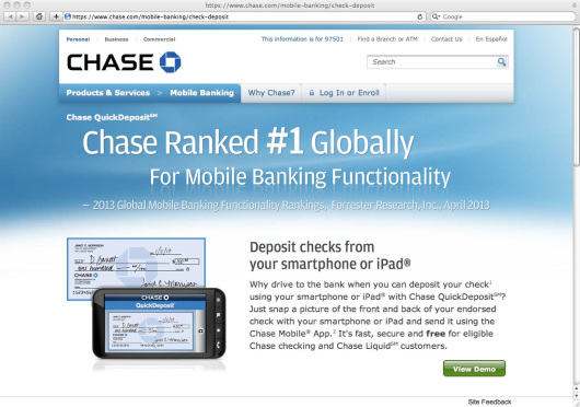 Chase online quick pay enrollment / T mobile phone top up