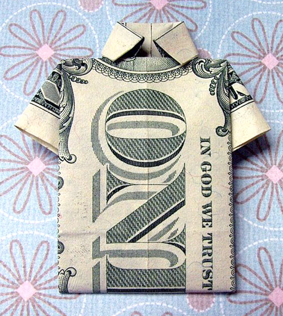 50 Spectacular Origami Designs Made From Money - photo#4