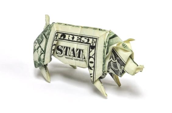 origami_money_pig