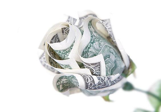 9 Beautiful Dollar Bill Origami DIY Tutorials | 396x565