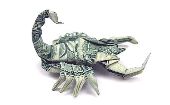 origami_money_scorpion