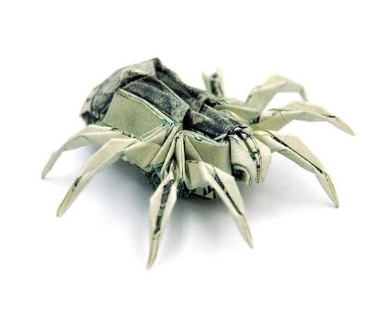 origami_money_spider
