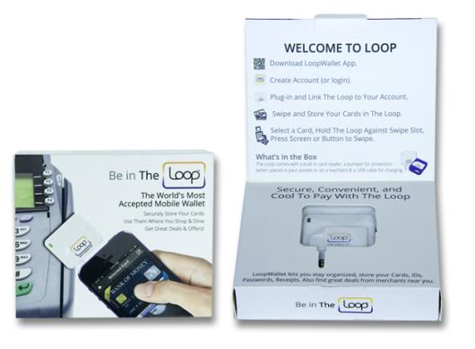 Loop Wallet Fob AppCessory Packaging