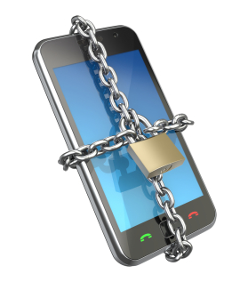 bigstock-Locked-phone-11727812