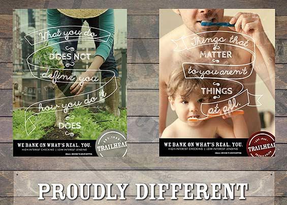 Trailhead merchandising examples