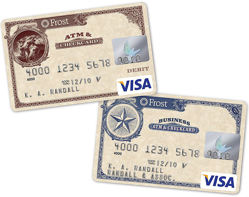 frost_bank_check_debit_card_designs - The Financial Brand