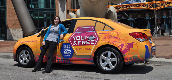 young_free_michigan_vehicle