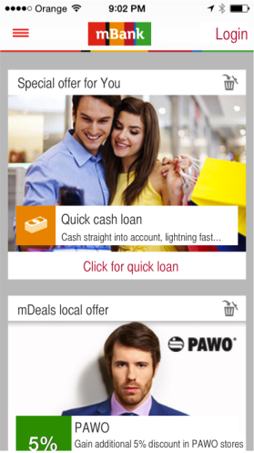 mBank offers