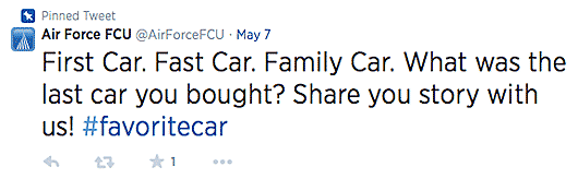 Air force fcu auto loan tweet