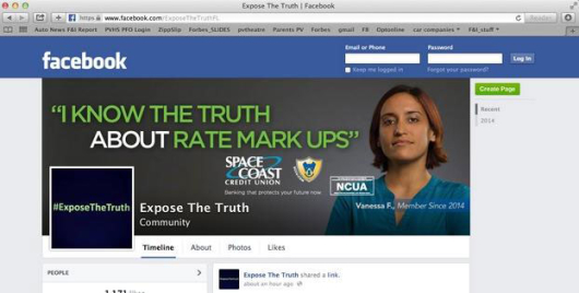 space_coast_credit_union_expose_the_truth_facebook_page