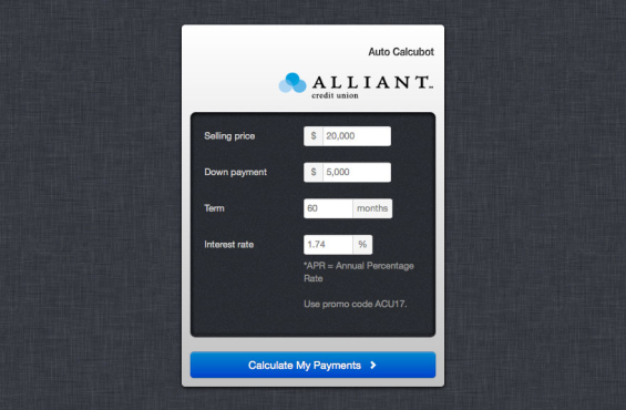 alliant_credit_union_calcubot