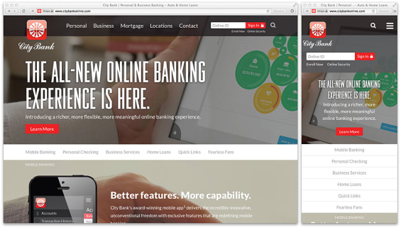 city_bank_website