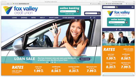 fox_valley_credit_union_website