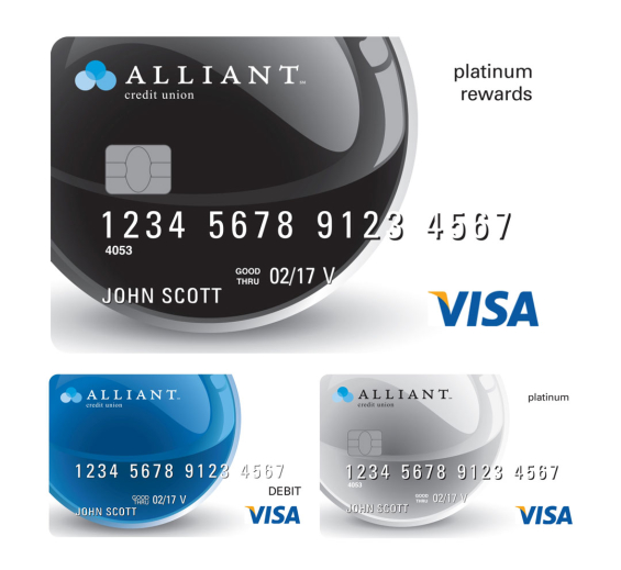 The best of credit union marketing cool classy creative for Premier designs credit card
