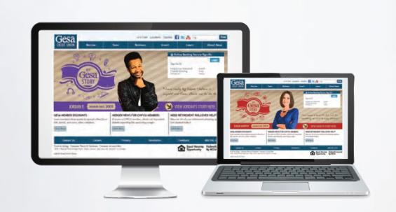 gesa_credit_union_website