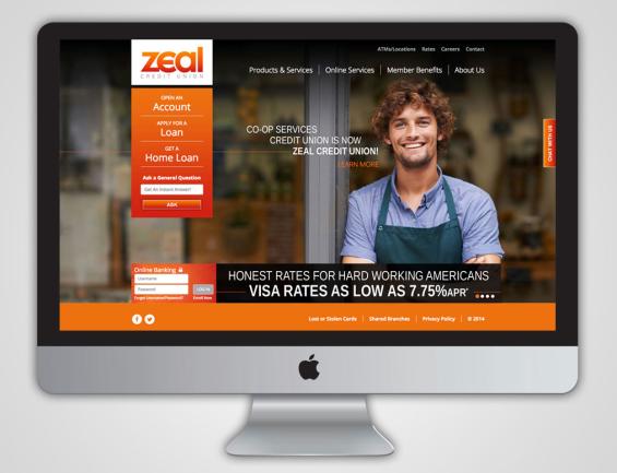 zeal_credit_unoin_website