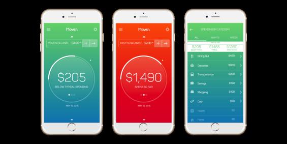 Screenshots Savings Categories