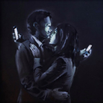 Couple with phone200