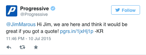 Progressive Tweet 1