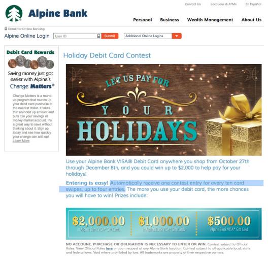 alpine_bank_debit_card_holiday_promotion
