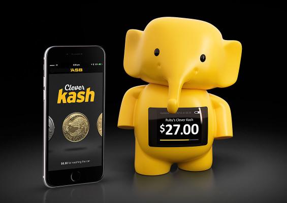 Clever Kash: The World's First Digital Piggybank for Kids