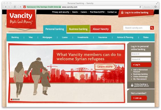 vancity_website