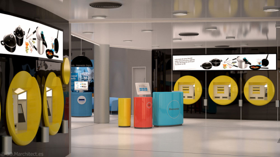 Retail banking branch design showcase spring 2016 for Oficinas la caixa santander