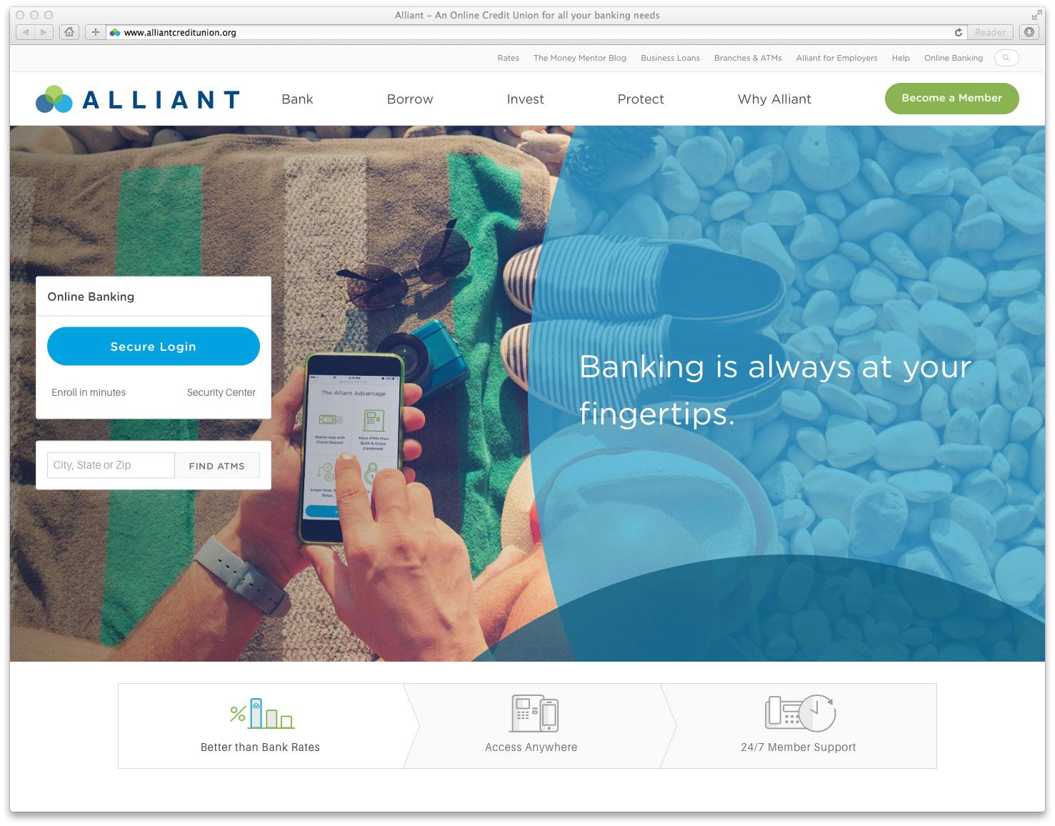 alliant credit union the financial brand
