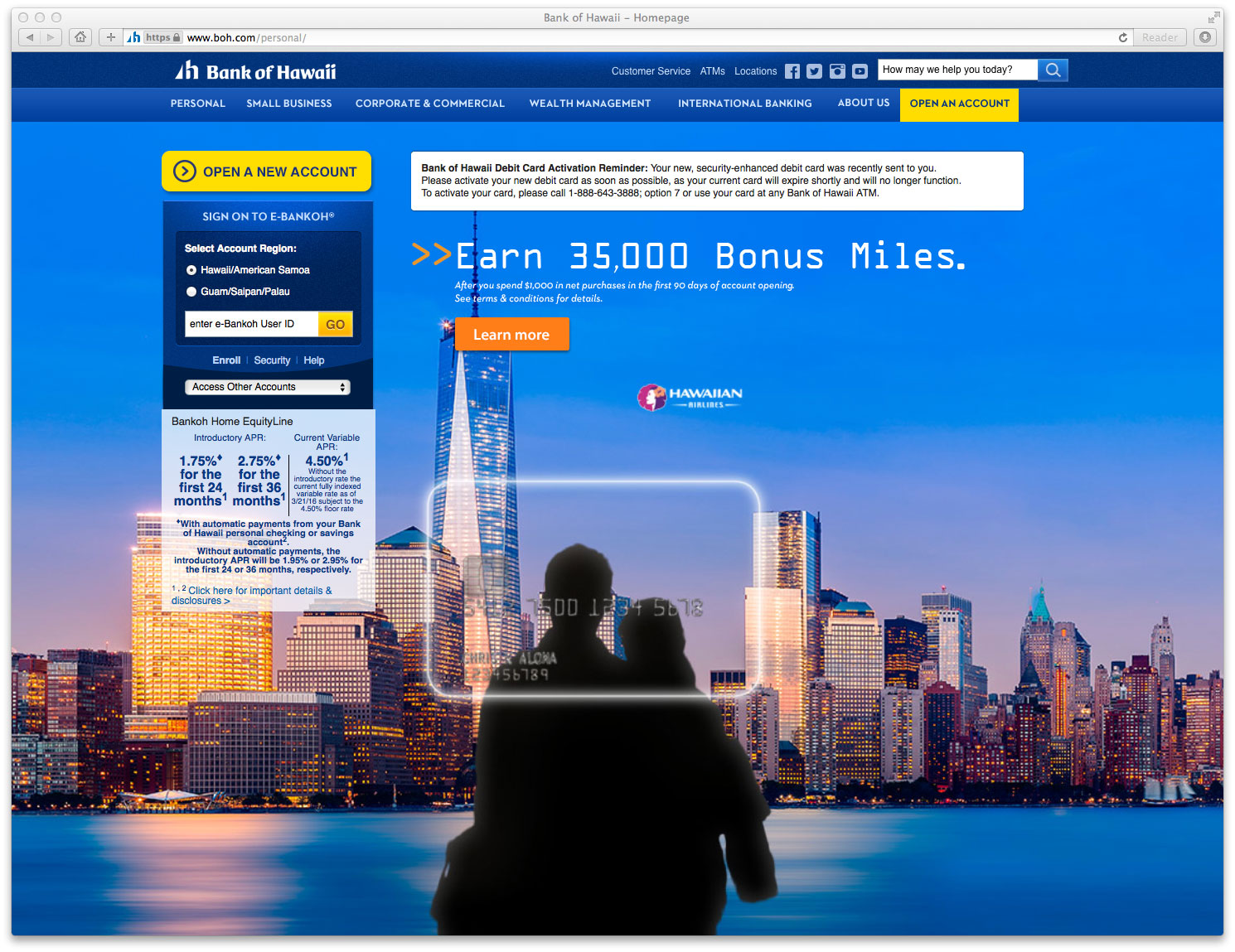 bank of hawaii website the financial brand