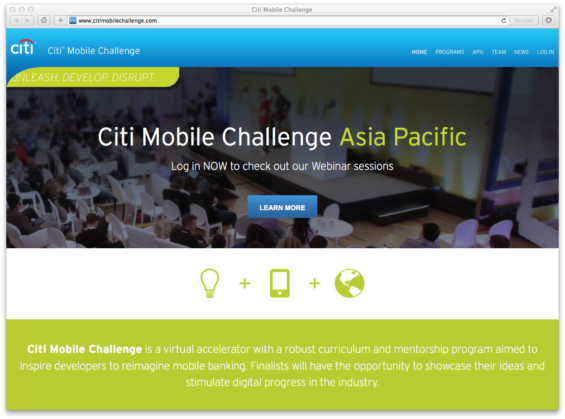 citi_mobile_challenge_website