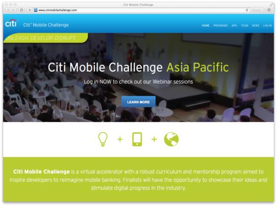citi_mobile_challenge_website