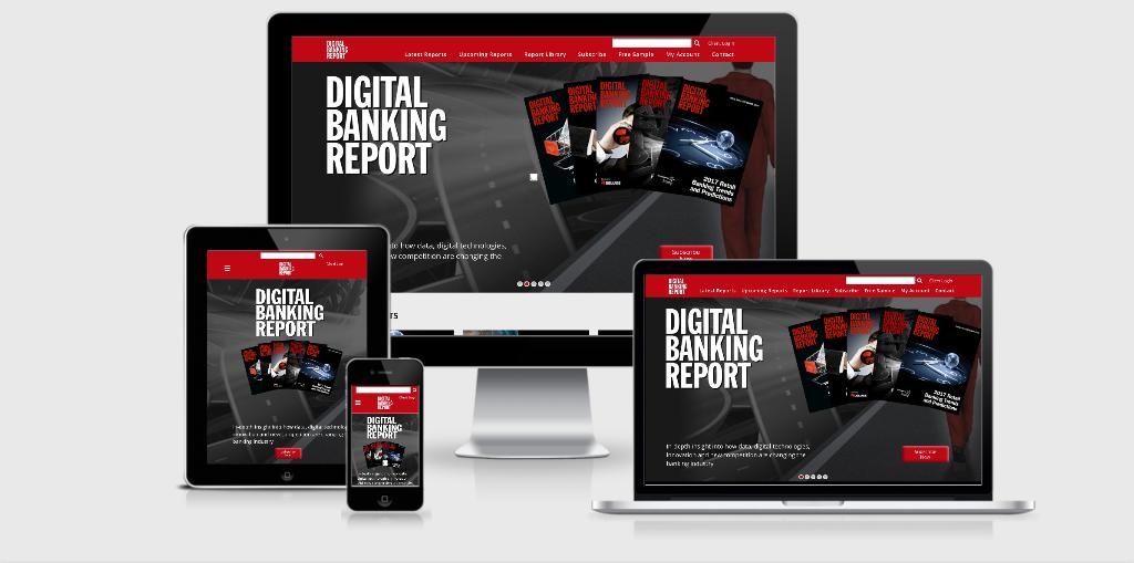 Freshly Redesigned 'Digital Banking Report' Website Unveiled