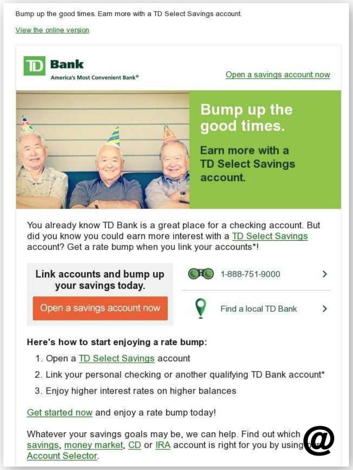 Td Bank Savings Crosssell Email  The Financial Brand. Gps Tracking For Equipment Hair Salon System. Breeze Dental Gilbert Az Day Trade Strategies. Cornerstone Wealth And Tax Advisory Group. Euphoria Salon Henderson The Punctual Plumber. California Fictitious Business Name Search. College Biology Project Ideas. School Inventory Software Free Wordpress Host. Smart Car Crash Test Video Cna Training Utah