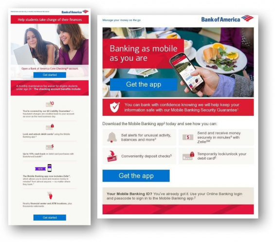 4ps of marketing for bank of america Like most brand marketing, the product was essentially the same from one  with  one another to create the most effective marketing mix, ultimately,  specializing  in brand management for bank of america, mattel and hanes.