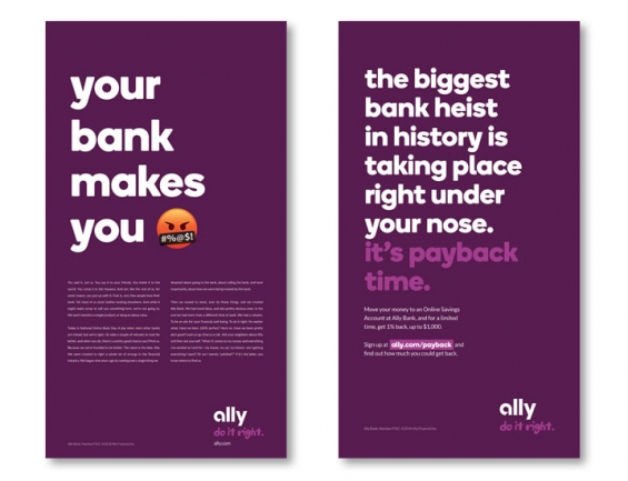 Ally Bank Ads