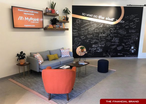 MyPoint Credit Union lobby redesign