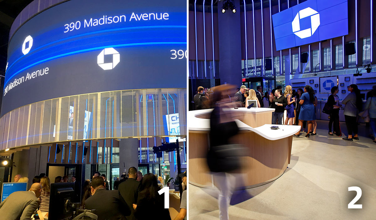 Chase Makes Bold Statement With Stunning New Flagship Branch
