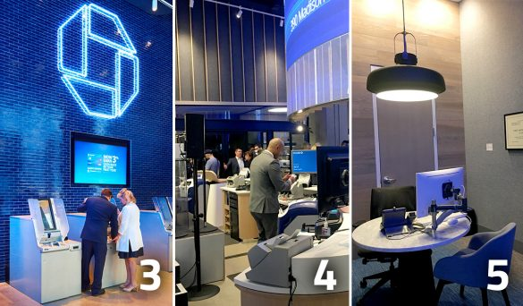 Chase flagship branch opening