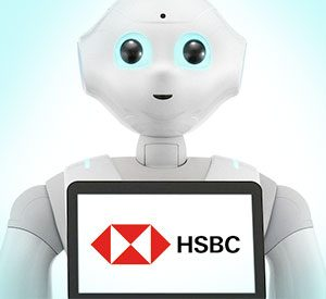 Article Image: Seriously Successful Results From HSBC Bank's Branch Robot Rollout